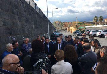 Riposto, crisi della pesca: confronto al porto con il segretario nazionale Udc, Cesa