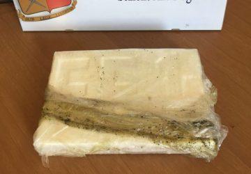 Corriere della droga in trappola al casello di San Gregorio: trasportava 1 kg di cocaina