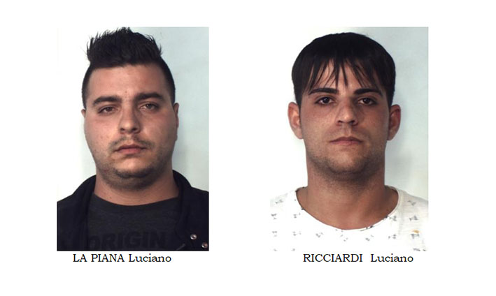 Catania, rubano i bagagli ad una coppia di turisti tedeschi. Arrestati VIDEO
