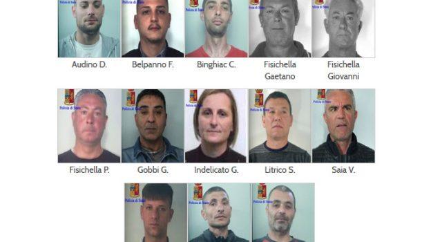 Sgominata banda di 17 ladri seriali catanesi specializzati in macchine movimento terra NOMI FOTO VIDEO