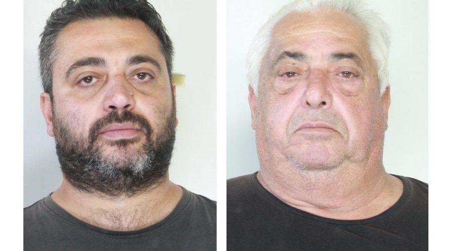 Aci Catena, beccati con 6 kg di marijuana: arrestati padre e figlio VIDEO