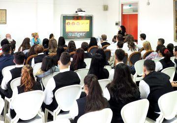 All'Alberghiero di Giarre incontro per promuovere l'educazione alla salute e l'integrazione interculturale