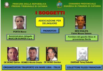 Catania, riciclaggio gasolio libico, 9 arresti NOMI FOTO VIDEO