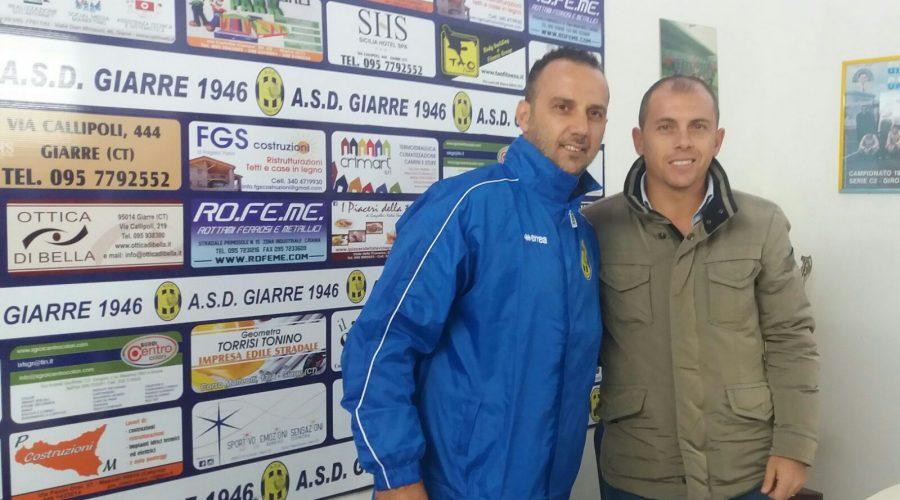 Colpaccio del Giarre calcio: Giuseppe Mascara è il nuovo allenatore