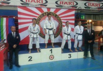 European Cup di Karate a Montecatini Terme: argento per Ester Gemma
