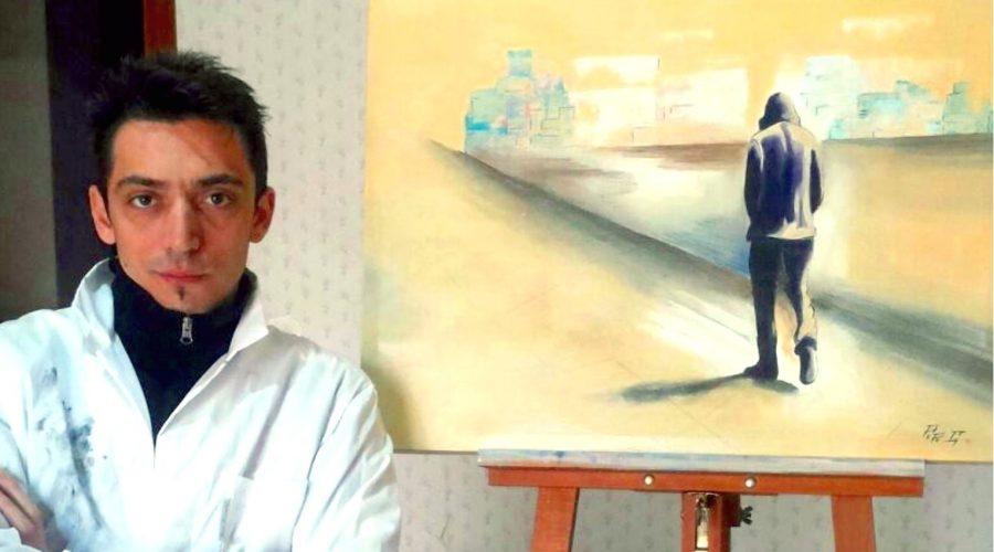 A Fiumefreddo di Sicilia i colori e le forme del giovane pittore Gianfranco Pepe