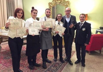 """Gli alunni dell'alberghiero di Giarre vincono la finale al premio """"Mario Rigoni Stern"""" di Asiago"""