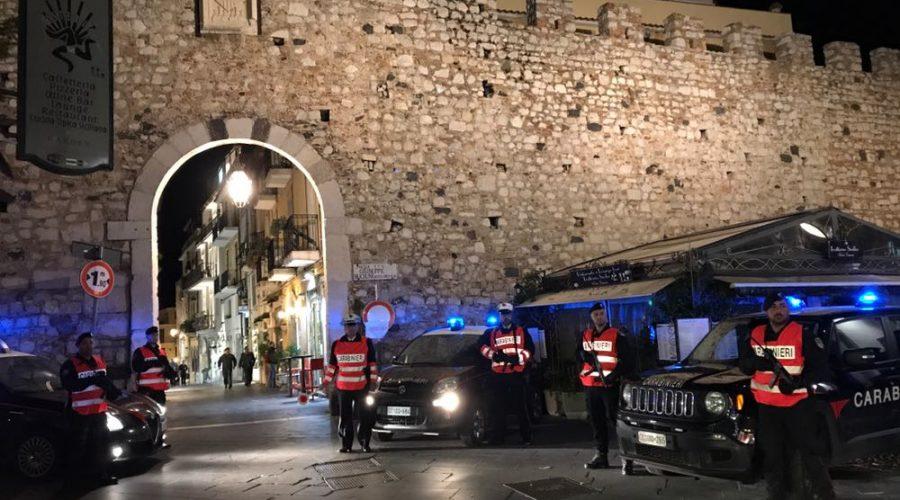 G7 pari opportunità a Taormina: l'arma dei carabinieri organizza la sicurezza