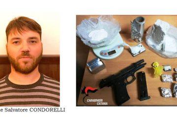"""Catania, blitz dei """"Lupi"""" a San Cristoforo: sequestro di cocaina e armi. Arrestato pregiudicato"""