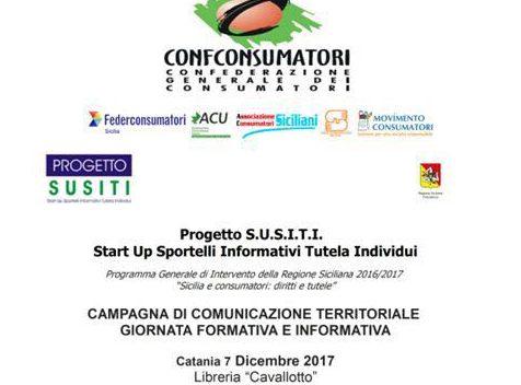Catania, tutela dei consumatori: oggi un nuovo appuntamento per conoscere i propri diritti