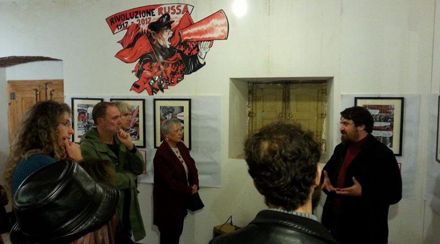 Catania, mostra su Majakovskij con le illustrazioni di Guglielmo Manetti