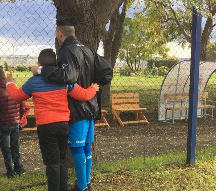 """Anche a Giarre ritorna """"La partita con papà """", la giornata di calcio dei papà detenuti coi loro figli"""