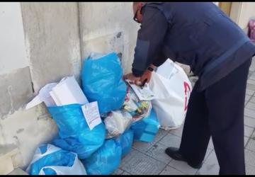 Mascali, blitz del sindaco Messina: controllati i rifiuti non correttamente differenziati