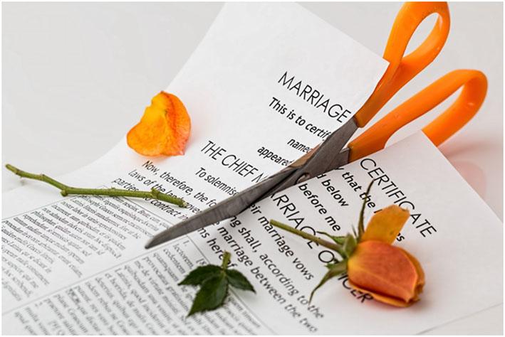 Divorzio, i 5 fattori di rischio