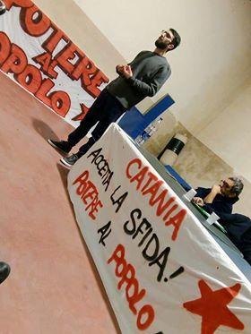 """Catania, lista """"Potere al Popolo"""": domani, domenica, assemblea a Librino"""