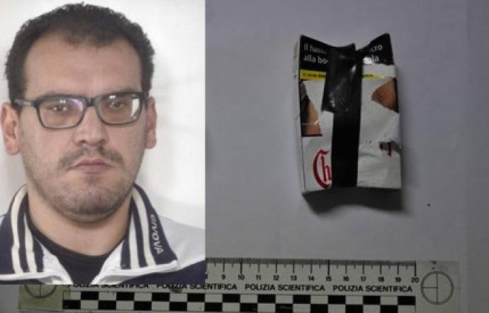 Adrano un arresto per droga aveva in casa 96 dosi di cocaina