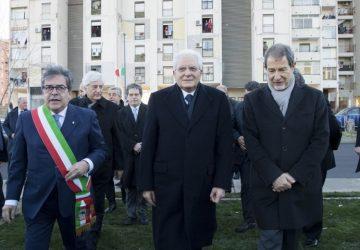 Catania, il presidente Mattarella inaugura il viale Ciampi
