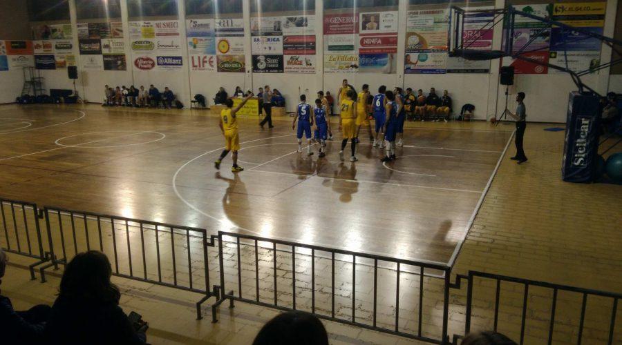 Basket Giarre 85-57 Libertas Alcamo. Trionfo gialloblù in serie C silver