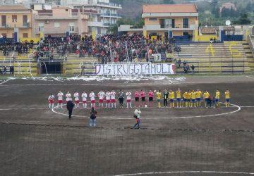 Calcio:  Giarre 0-1 Città di Messina. Gialloblù impalpabili e giallorossi autoritari