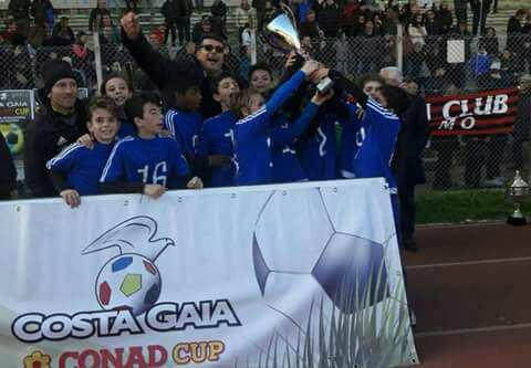 La Jonia Calcio, categoria esordienti 2006, vince il torneo Costa Gaia