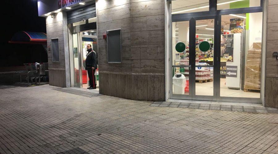 Giarre, rapina al discount A&O di via Principe di Piemonte