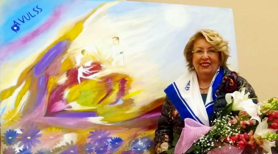 Gaggi: un artistico omaggio di Romua alla locale sezione dell'Avulss