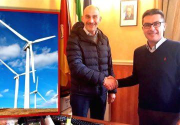 """Francavilla di Sicilia: accordo di San Valentino con il Parco Eolico """"Alcantara-Peloritani"""""""