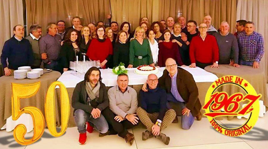 """Francavilla di Sicilia: """"reunion"""" dei cinquantenni della classe 1967"""