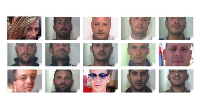 Operazione antidroga tra Siracusa e Messina: 16 arresti NOMI FOTO VIDEO