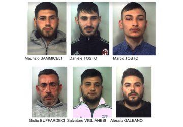 "Catania, blitz antidroga a ""Zia Lisa"": sei arresti"