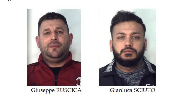 """Catania, sequestro di """"coca"""" a San Leone. Due pregiudicati in manette"""