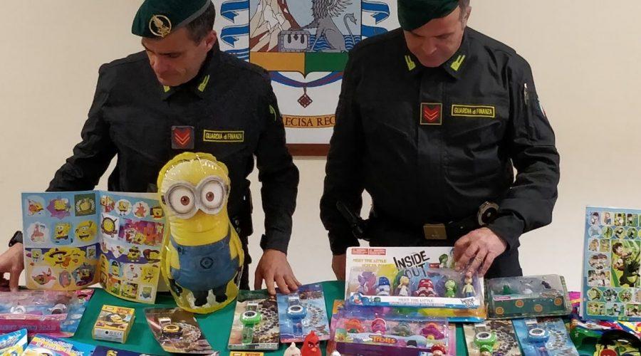 Catania, sequestrati oltre 170.000 articoli contraffatti. Denunciato il titolare
