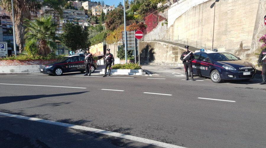 Taormina: evade dagli arresti domiciliari, arrestato dai carabinieri