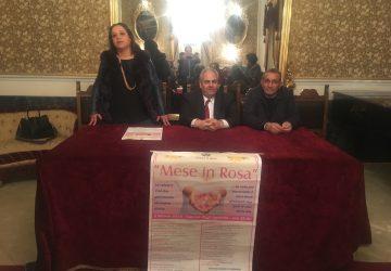 Giarre, presentato in municipio il progetto di prevenzione Mese in Rosa