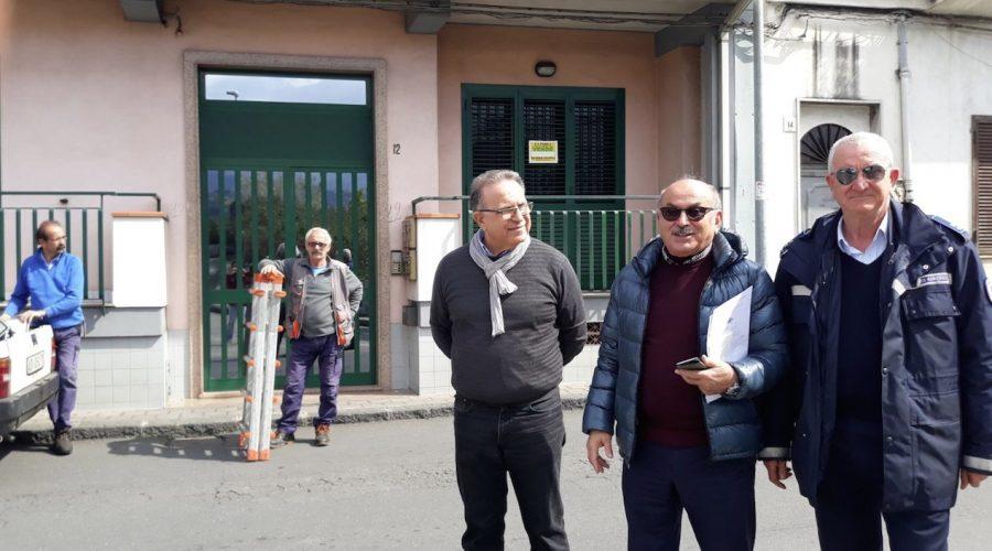 """Sicurezza stradale a Riposto: attivato primo step per rendere sicuro il """"triste"""" incrocio tra via Immacolata e via Libertà"""