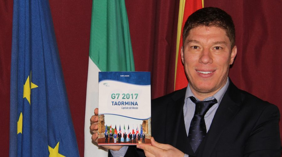 """""""G7 2017 Taormina Capitale del Mondo"""" è il nuovo libro del giornalista Saro Laganà"""