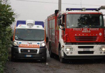 Giarre, incidente in A18; si ribalta auto. Intervento dei Vigili del fuoco