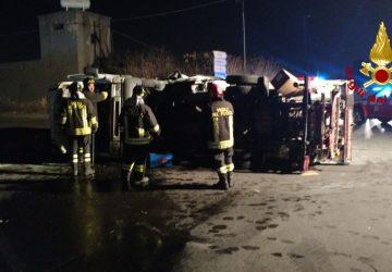 Catania, grave incidente nella zona industriale