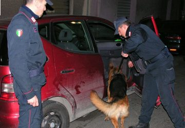 Giardini Naxos: due arresti per spaccio di droga