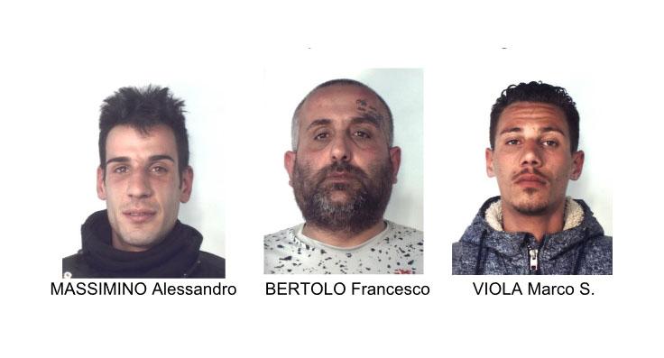 Catania, beccati dai carabinieri tre spacciatori in via Alogna
