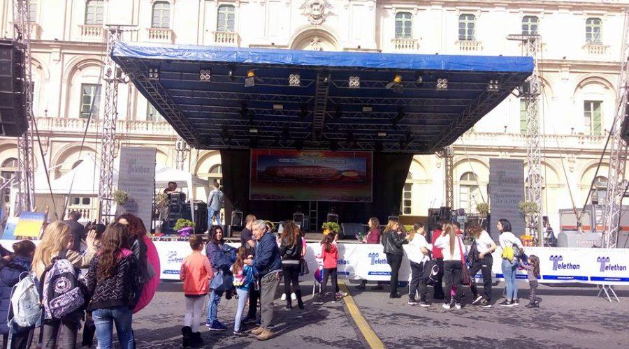 Festa di primavera 2018:  Catania si veste di solidarietà per la raccolta fondi Telethon contro le malattie genetiche rare