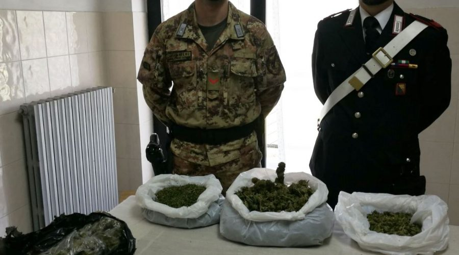 Fermati con 60 grammi di marijuana, due studenti 16enni arrestati ad Acate