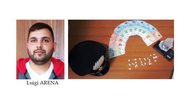 Aci Catena, un arresto per spaccio di cocaina