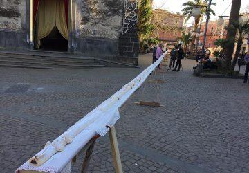 Calatabiano: battuto il record del mostacciolo più lungo d'Italia