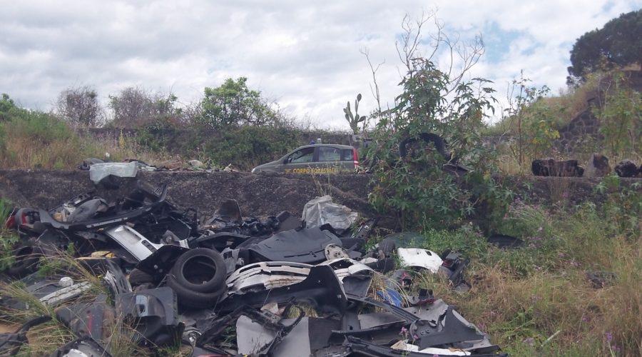 """Corpo Forestale di Giarre segnala alla Prefettura """"bomba ecologica"""" a Santa Maria la Strada"""