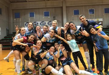 Pallavolo femminile, Amici del Volley Giarre festeggia una storica promozione in B2