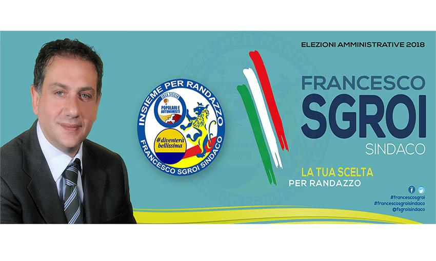 Randazzo, il candidato sindaco Francesco Sgroi incassa anche l'appoggio di Fratelli d'Italia