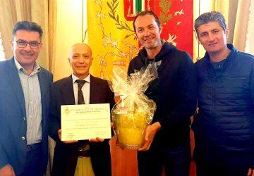 """Francavilla di Sicilia """"festeggia"""" i successi sportivi di Salvatore Ferruccio Puglisi"""