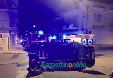 Giarre, pauroso incidente in via Luigi Orlando: tre feriti VIDEO