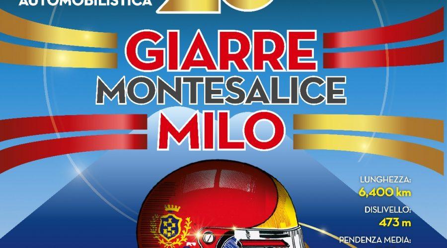 Autimobilismo: dal 6 all'8 luglio la Cronoscalata Giarre Montesalice Milo celebra il ventennale